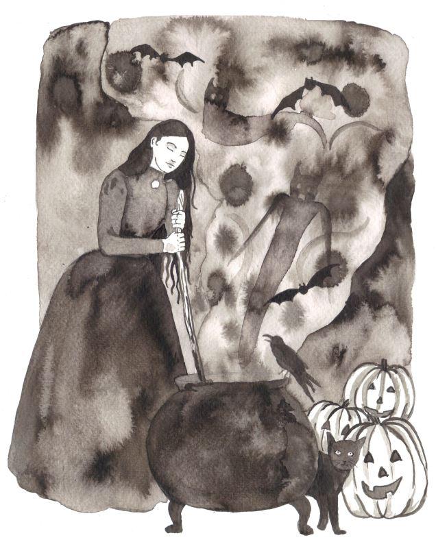 Day 31. Witch's Cauldron. Scott Keenan, 2015